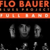 affiche FLO BAUER BLUES PROJECT - LA RENCONTRE DE DEUX GENERATIONS