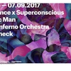 affiche RNSC w/ Francis Inferno Orchestra, Fantastic Man, Realitycheck