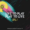 affiche Exposition Gaming. Live to Play - Play to Live Lvl.2