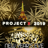 affiche PROJET X NEW YEAR THE BIG PARTY 2019 ( 40€ + 10 CONSOS )