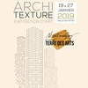 affiche Architexture exposition d'art