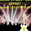 affiche Zepset Tribute de Led Zeppelin