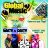 affiche CONCERT NORTH & SOUTH + SOIREE GLOBAL MUSIC