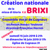 affiche Concert Ensemble Vocal de Cugnaux