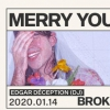 affiche Merry Youth et Broken Cash Machine • edgar déception (Dj)