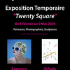 affiche Exposition d'Art Contemporain