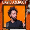 affiche DAVID AZENCOT - INFLAMMABLE