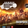 affiche ROCKIN 1000 NANTES BUS + CAT 1 - STADE DE FRANCE