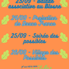 affiche Fete des possibles - Balade associative au Blosne