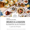 affiche Brunch dominical du Chalet à la maison: click & collect