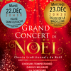 affiche Grand Concert de Chants Traditionnels de Noël