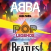 affiche POP LEGENDS : ABBA & THE BEATLES - PERFORMED BY ABBA MANIA