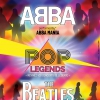 affiche POP LEGENDS - ABBA & THE BEATLES performed by