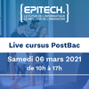 affiche Live Orientation - Cursus Post-Bac en 5 ans - Epitech Bordeaux